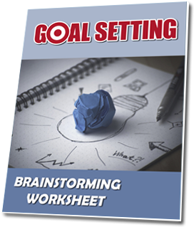 Goal Setting Brainstorming Worksheet