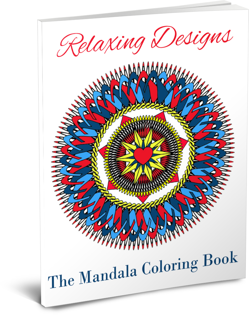 Mandala Coloring Book with PLR Rights
