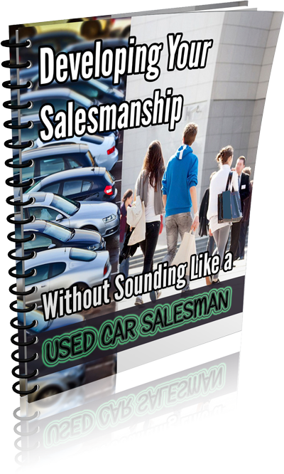 Developing Your Salesmanship