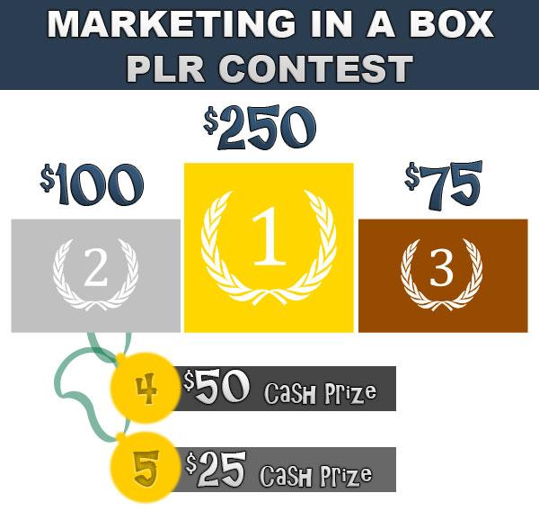 PLR Affiliate Contest