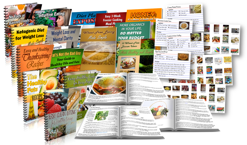 1098 Piece Food Content Package