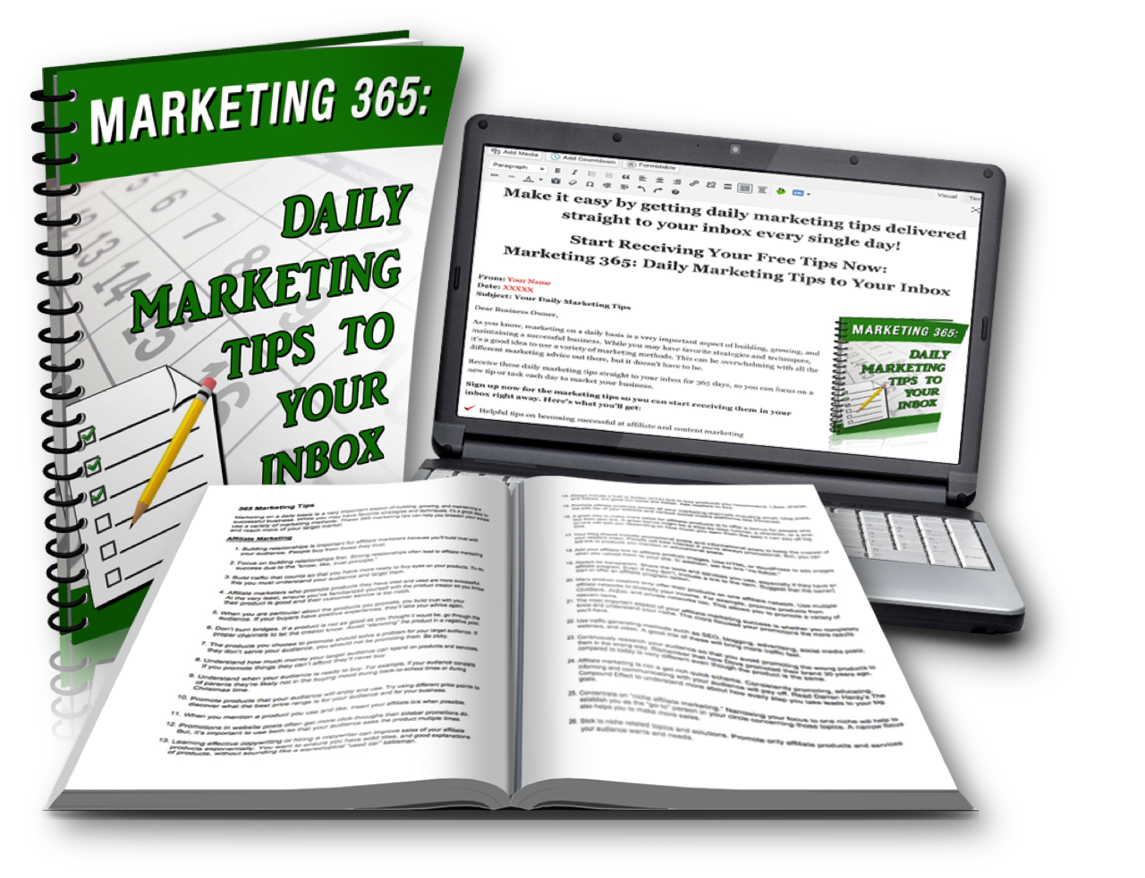 365 Marketing Tips