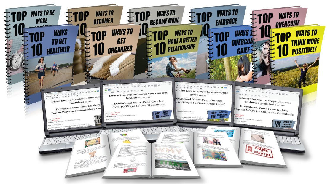 10X Personal Development Lead Magnet Package