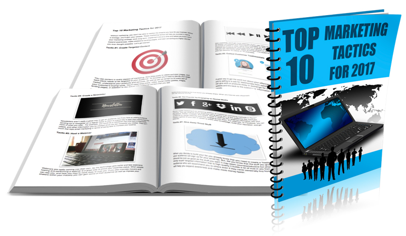 Top 10 Marketing Tactics