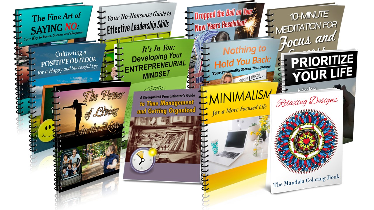 Self-Improvement PLR Mega Value Pack