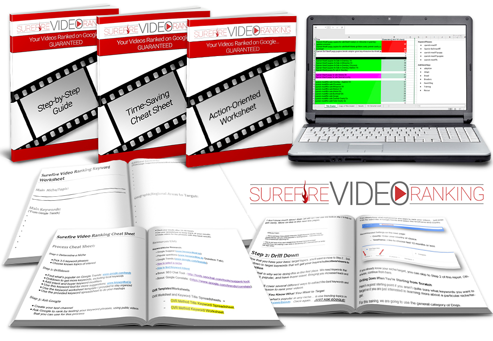 Sign up for Surefire Video Ranking Now