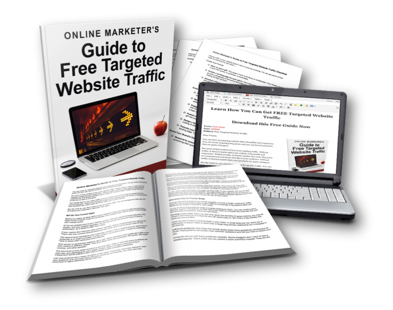 Online Marketer's Guide to Free Targeted Website Traffic