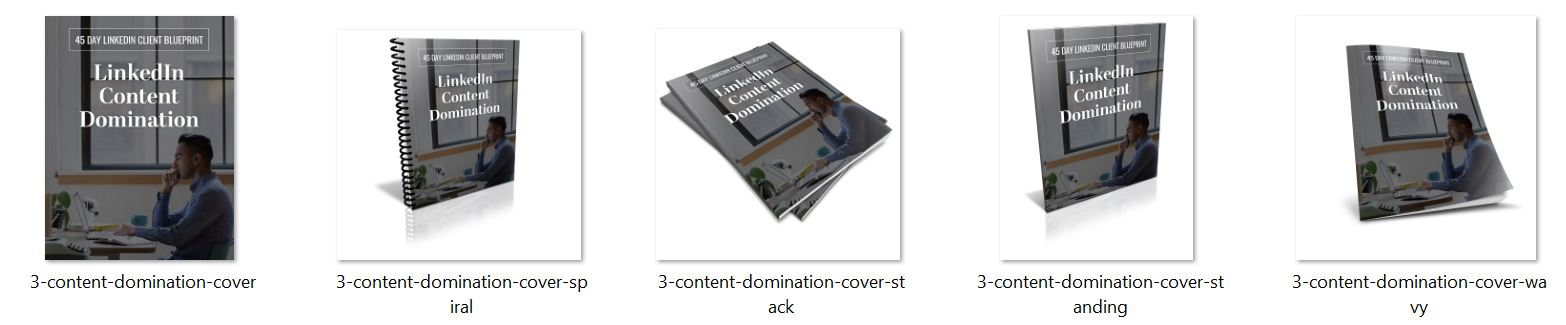 LinkedIn Content Domination Ecovers