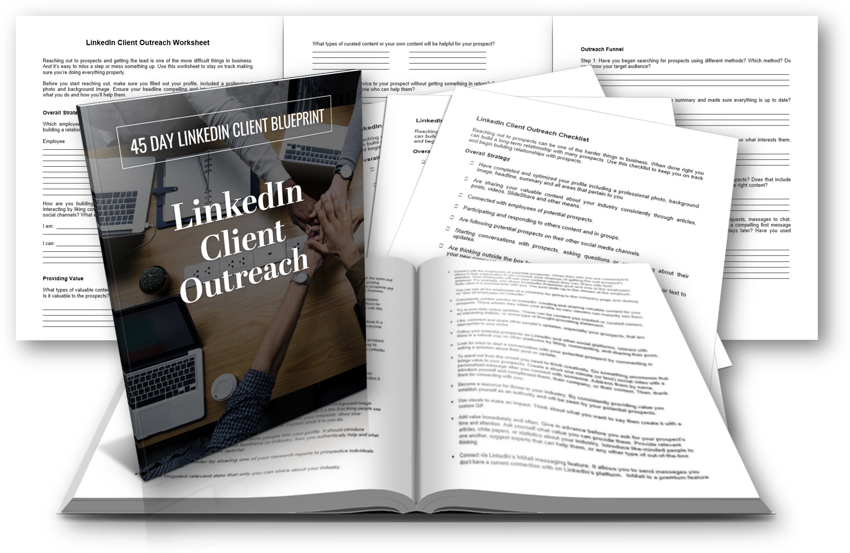LinkedIn Client Outreach Report