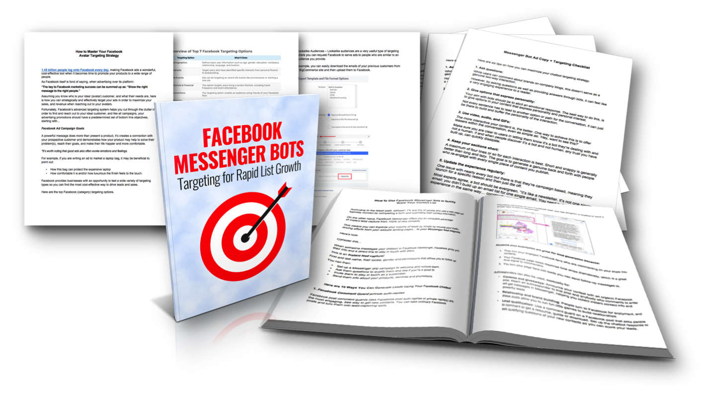 Facebook Messenger Bots Targeting Strategies