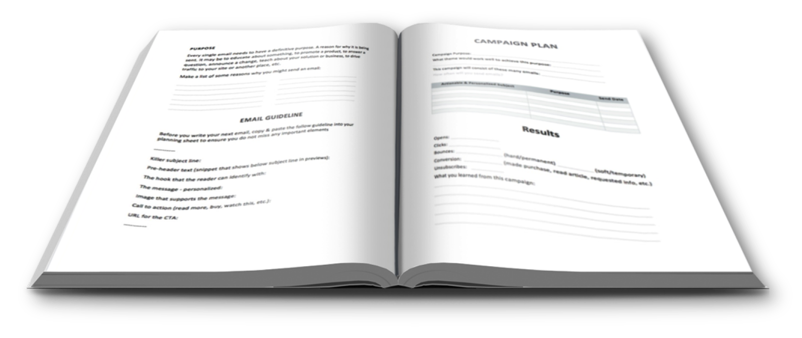 Email Campaign Planner