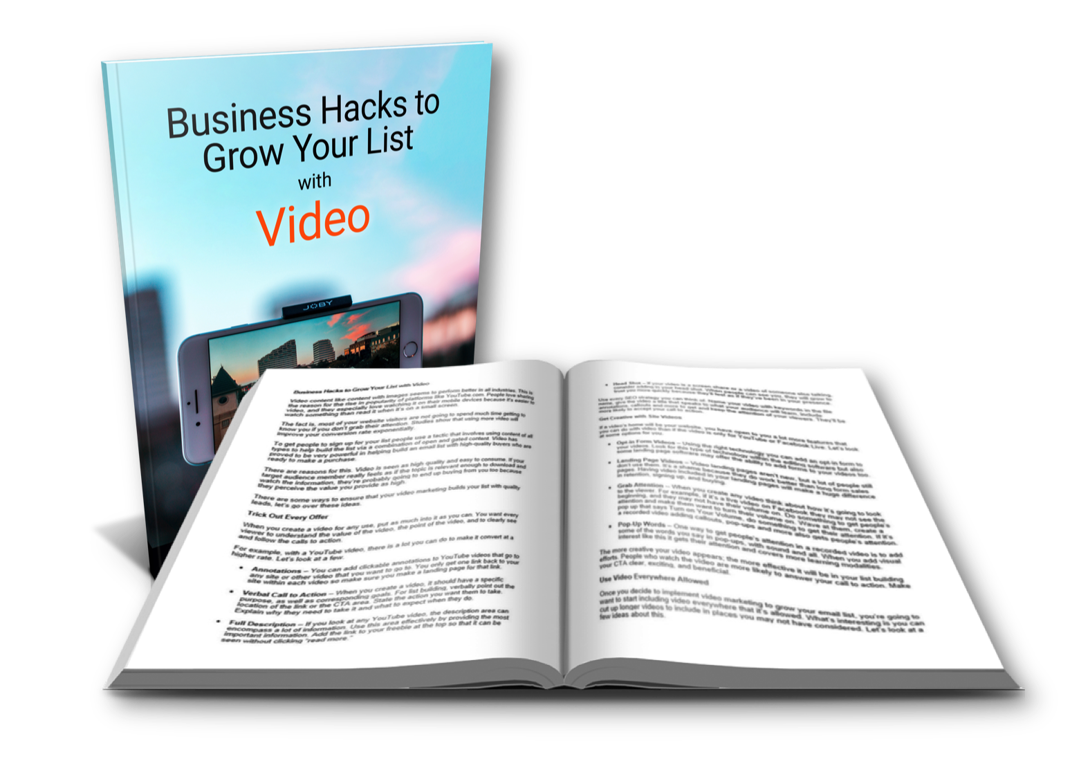 Grow Your List Video